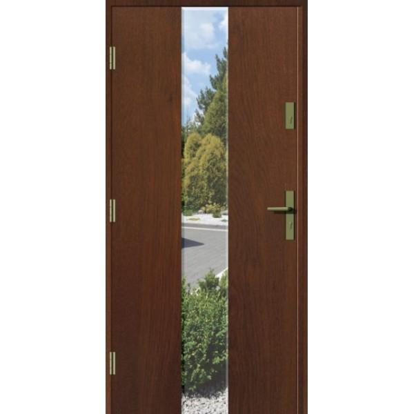 Drzwi zew. stalowe MIKEA Thermika Felc wzór LANZA 4202