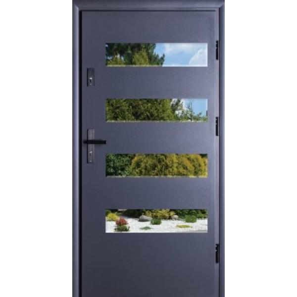 Drzwi zew. stalowe MIKEA Thermika Felc wzór VETRO...