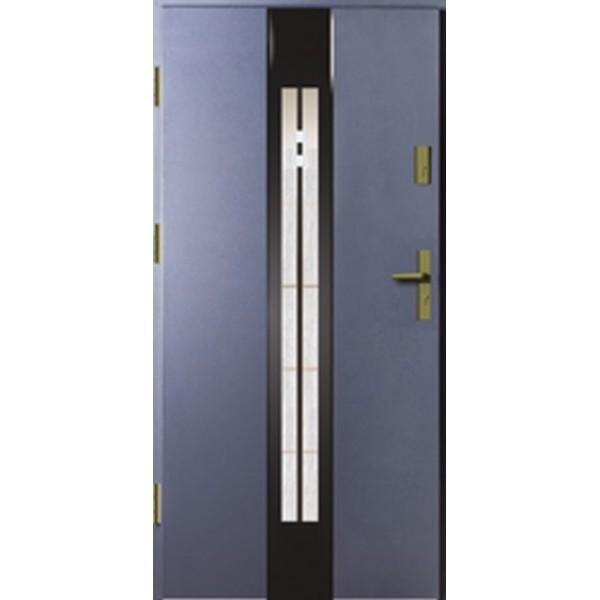 Drzwi zew. stalowe MIKEA Thermika Felc wzór LANZA