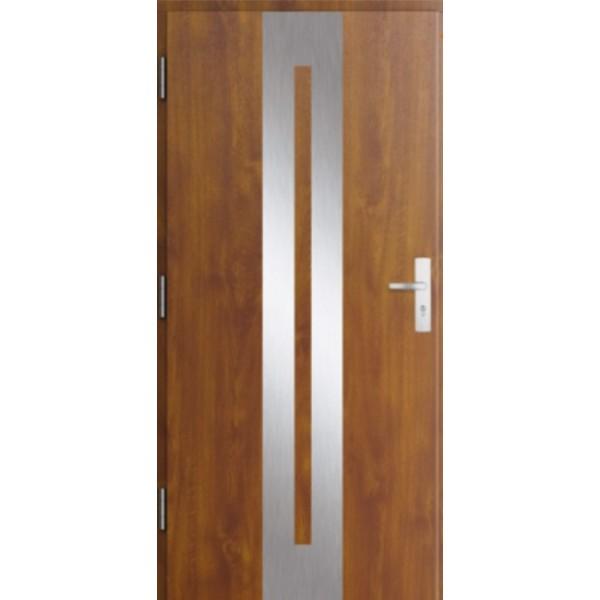Drzwi zew. stalowe MIKEA PASIV wzór CENTRO 1706