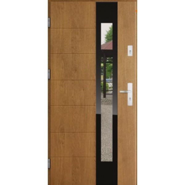 Drzwi zew. stalowe MIKEA Thermika Felc wzór LANZA 4261