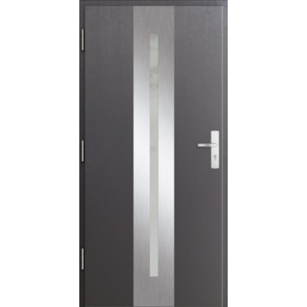 Drzwi zew. stalowe MIKEA PASIV wzór CENTRO 1701