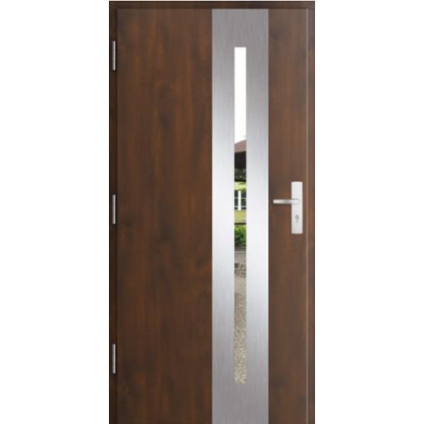 Drzwi zew. stalowe MIKEA PASIV wzór CENTRO 1702