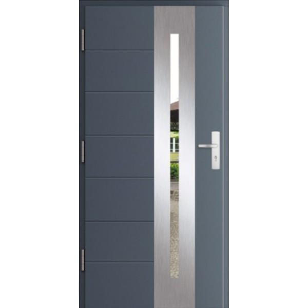 Drzwi zew. stalowe MIKEA PASIV wzór CENTRO 1761