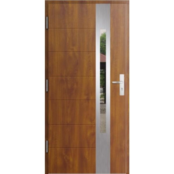 Drzwi zew. stalowe MIKEA PASIV wzór ELEVADO 1061
