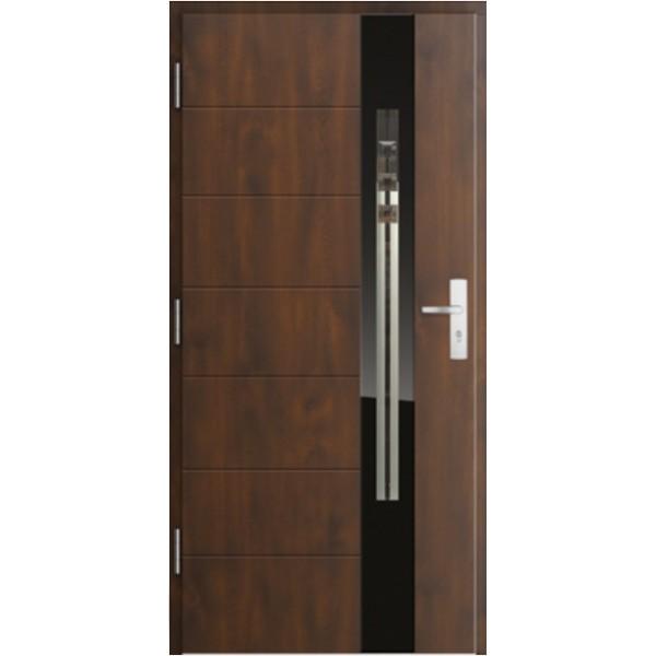 Drzwi zew. stalowe MIKEA PASIV wzór SCALA 4161