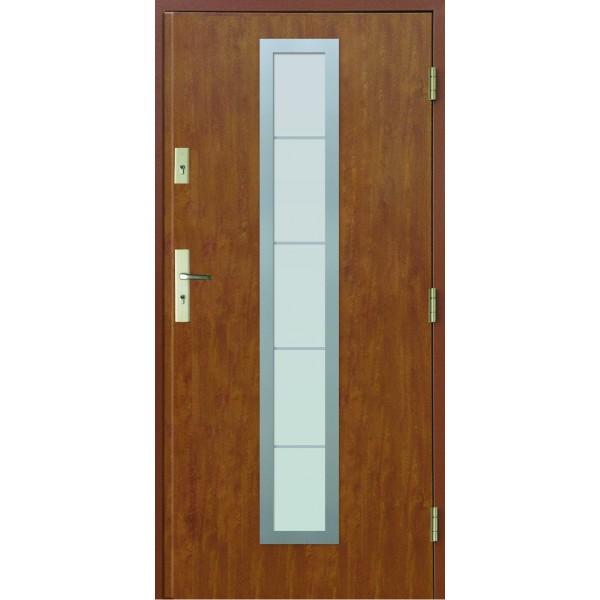 Drzwi zew. stalowe MIKEA Thermika Felc wzór CORRE...