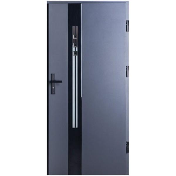 Drzwi zew. stalowe MIKEA PASIV wzór SCALA 4101