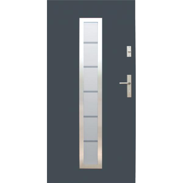 Drzwi zew. stalowe WIKĘD - WZÓR 12
