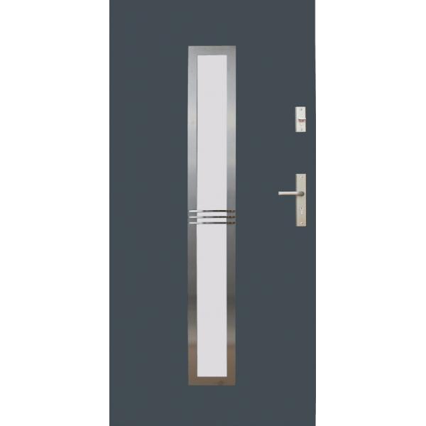 Drzwi zew. stalowe WIKĘD - WZÓR 12A