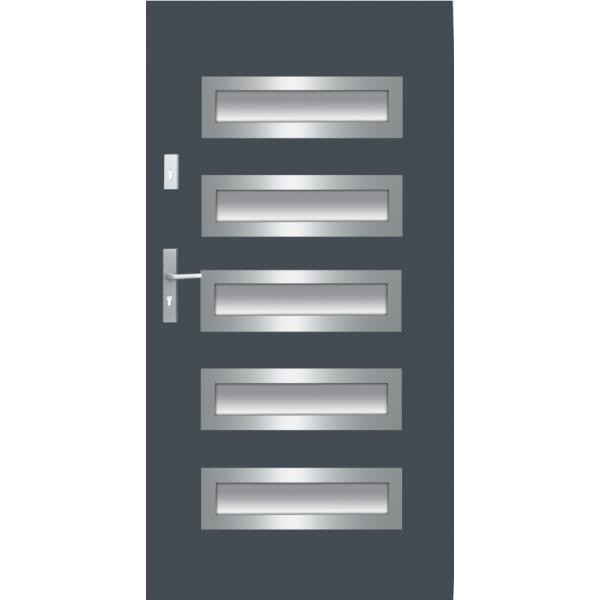 Drzwi zew. stalowe WIKĘD - WZÓR 20