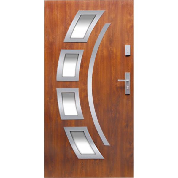 Drzwi zew. stalowe WIKĘD - WZÓR 21