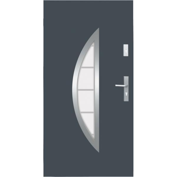 Drzwi zew. stalowe WIKĘD - WZÓR 22