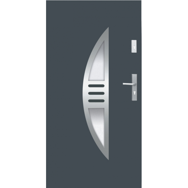 Drzwi zew. stalowe WIKĘD - WZÓR 24