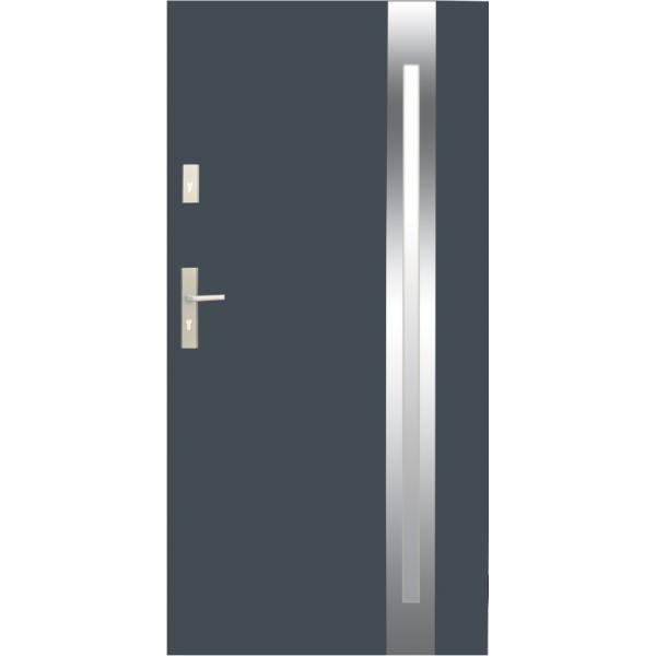 Drzwi zew. stalowe WIKĘD - WZÓR 25B