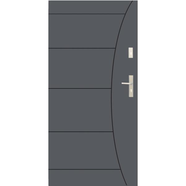 Drzwi zew. stalowe WIKĘD - WZÓR 26F