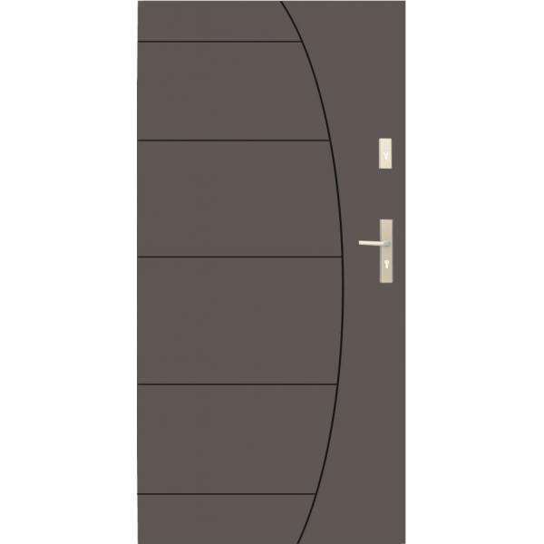 Drzwi zew. stalowe WIKĘD - WZÓR 26G