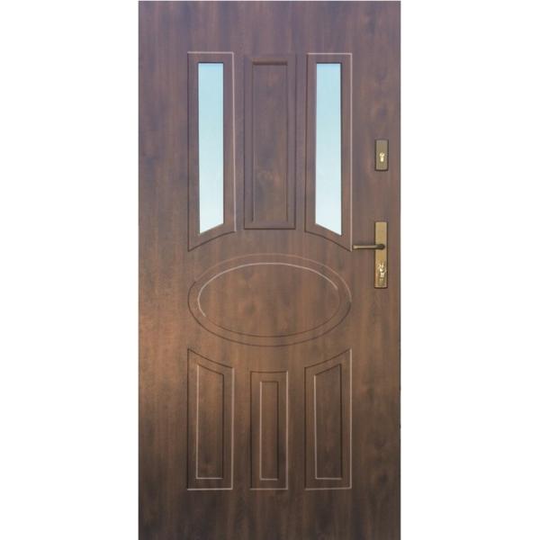 Drzwi zew. stalowe WIKĘD - WZÓR 33A