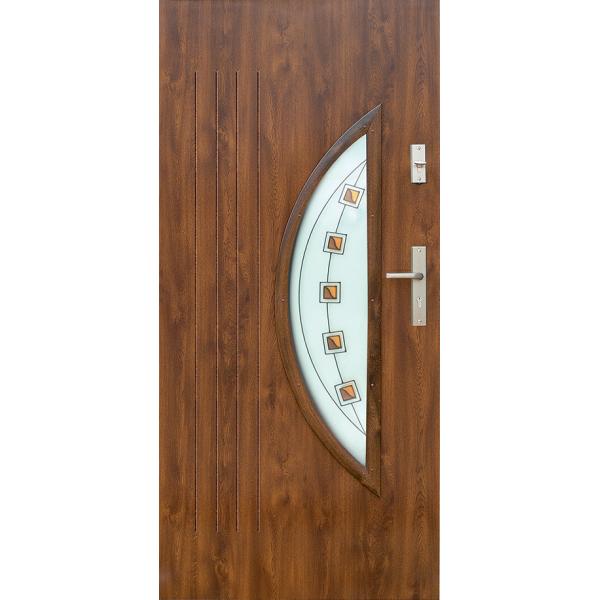 Drzwi zew. stalowe WIKĘD - WZÓR 7