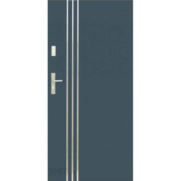 Drzwi zew. stalowe WIKĘD - WZÓR 32A Inox