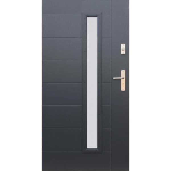 Modish Drzwi Wikęd wzór 42 zewnętrzne - Sklep Solidne Drzwi VU89