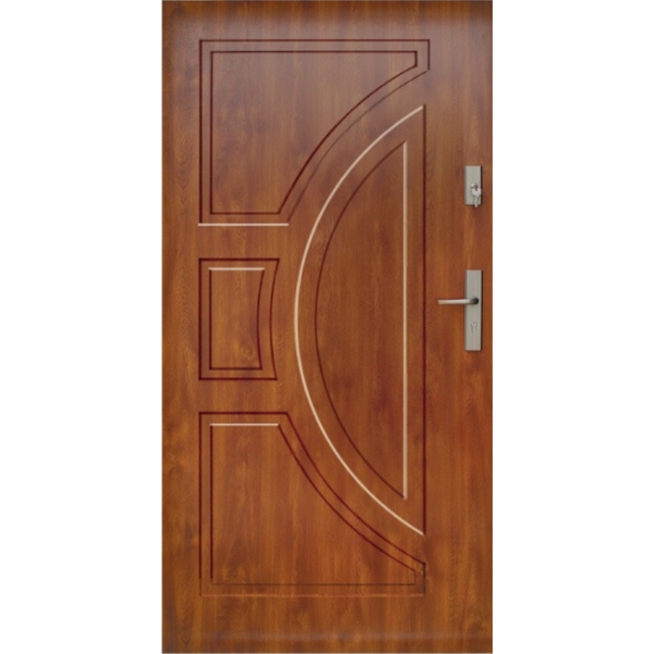 Drzwi zew. stalowe WIKĘD - WZÓR 10P
