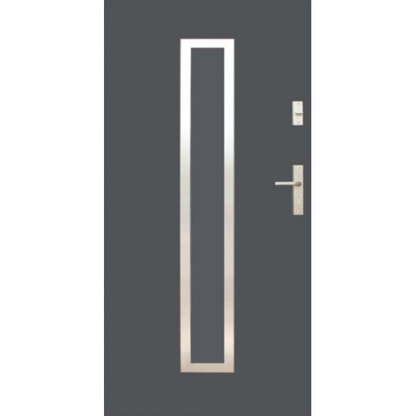 Drzwi zew. stalowe WIKĘD - WZÓR 12I