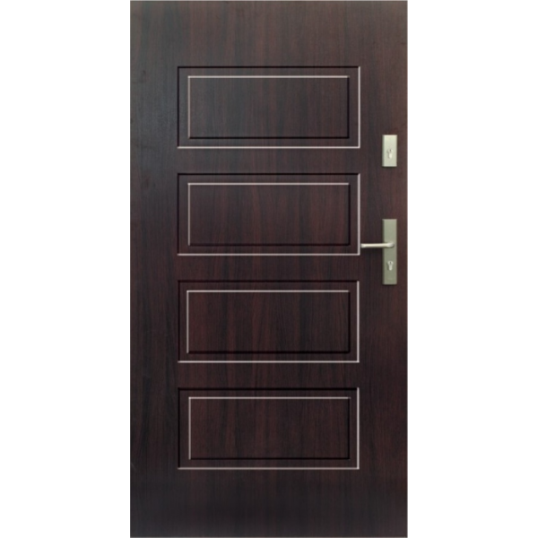 Drzwi zew. stalowe WIKĘD - WZÓR 13P