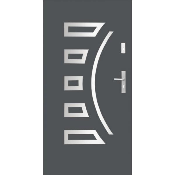 Drzwi zew. stalowe WIKĘD - WZÓR 23I