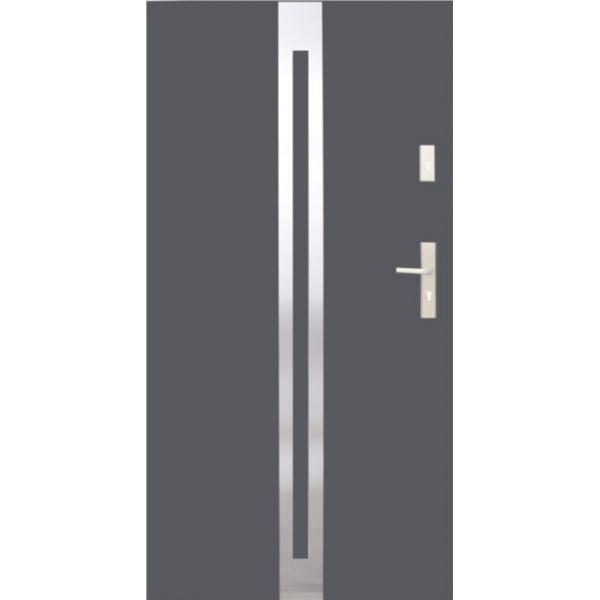 Drzwi zew. stalowe WIKĘD - WZÓR 25I