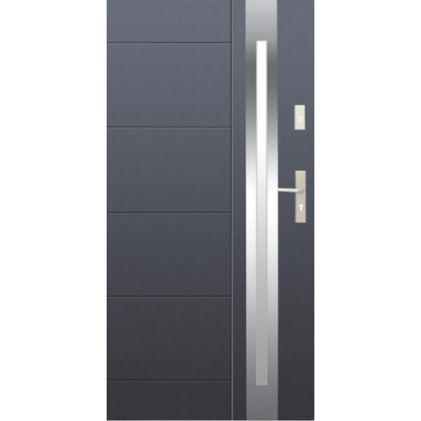 Drzwi zew. stalowe WIKĘD - WZÓR 25 C