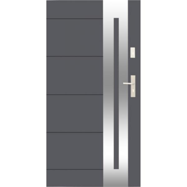 Drzwi zew. stalowe WIKĘD - WZÓR 26I