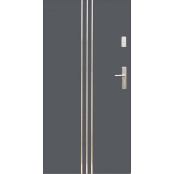 Drzwi zew. stalowe WIKĘD - WZÓR 32