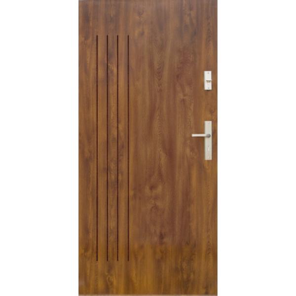 Drzwi zew. stalowe WIKĘD - WZÓR 7P