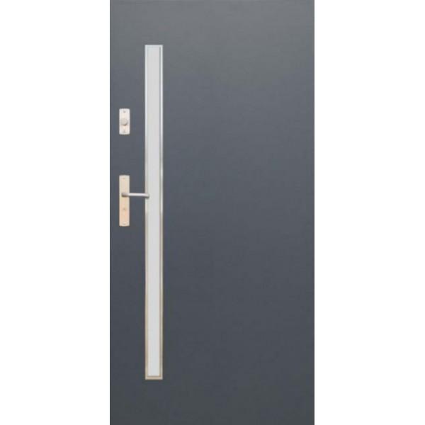 Drzwi zew. stalowe WIKĘD FUTURE INOX FI10A