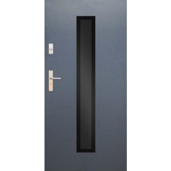 Drzwi zew. stalowe WIKĘD GLASS DESIGN GD01A