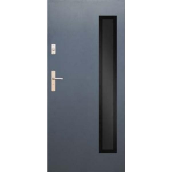 Drzwi zew. stalowe WIKĘD GLASS DESIGN GD01C
