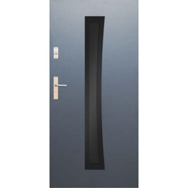 Drzwi zew. stalowe WIKĘD GLASS DESIGN GD02A