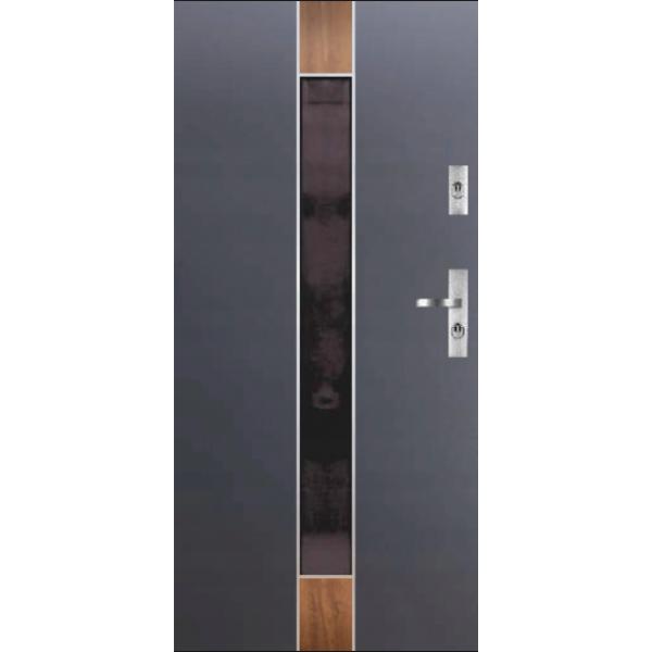 Drzwi zew. stalowe KMT PERFEKT 7-2