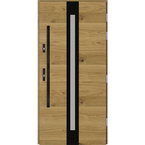 Drzwi Zew. Drewniane DOORSY CENTO BLACK 03