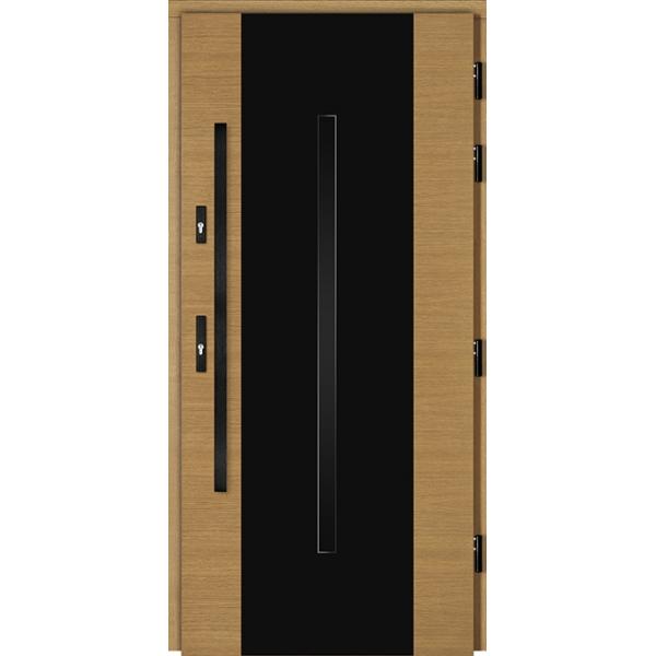 Drzwi Zew. Drewniane DOORSY FERRARA BLACK 03