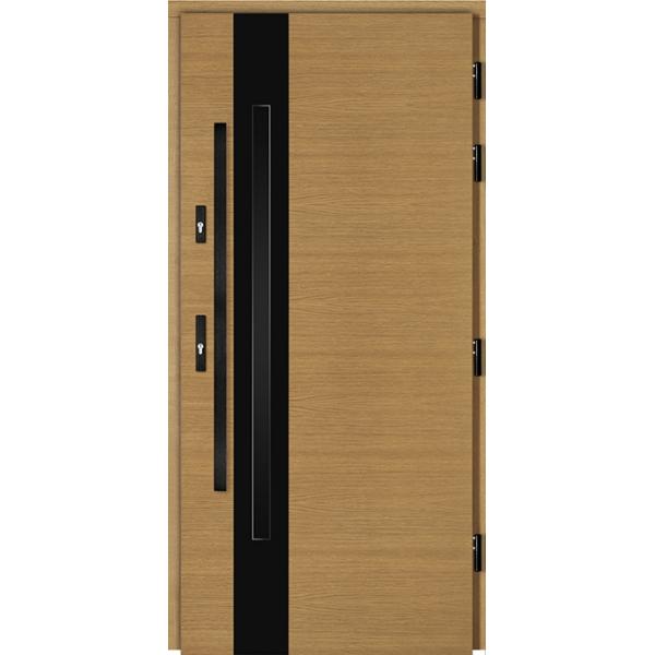 Drzwi Zew. Drewniane DOORSY ROVIGO BLACK 03